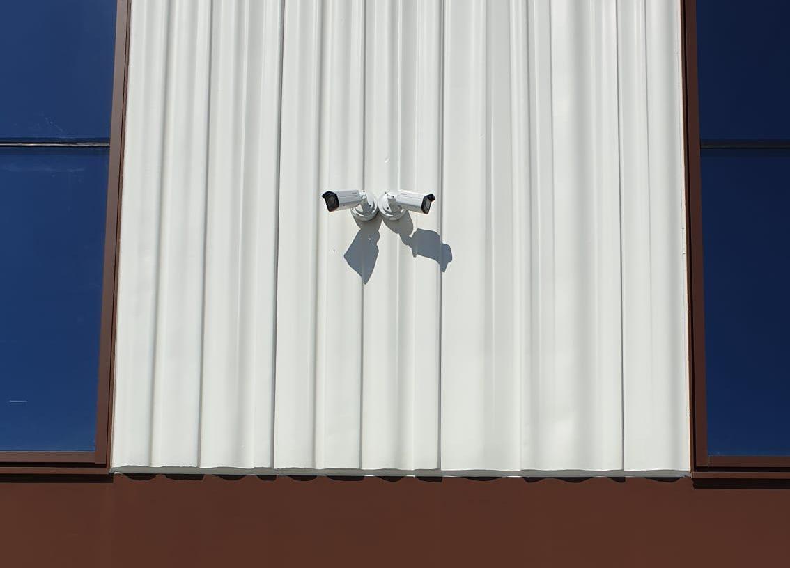 Telecamere di videosorveglianza esterna